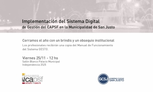 IMPLEMENTACION DEL SISTEMA DIGITAL DE GESTION.
